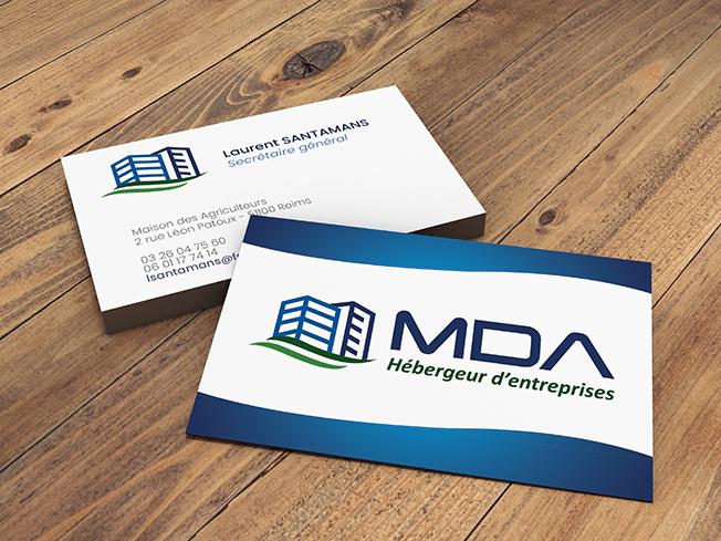 Carte de visite MDA